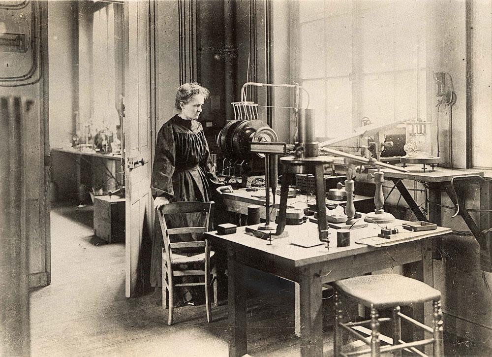 Marie Curie, une scientifique engagée