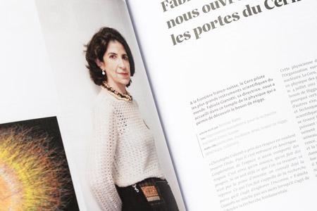 Fabiola Gianotti nous ouvre les portes du Cern